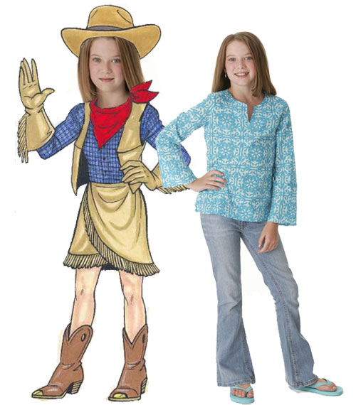 Cowgirl Teen Cutout