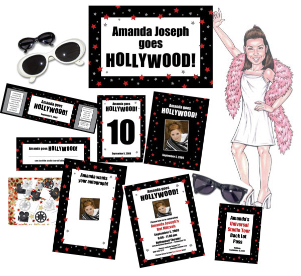 Hollywood Theme Party Package