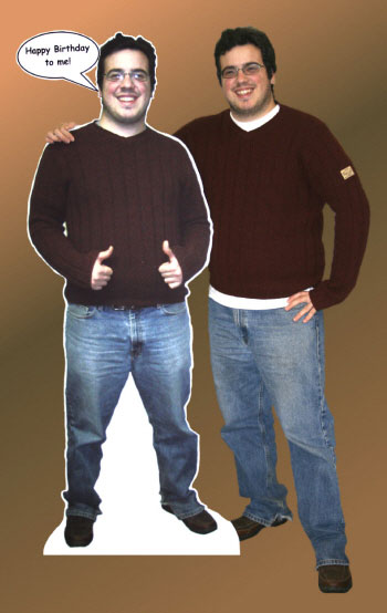 Lifesize Photo Cutout