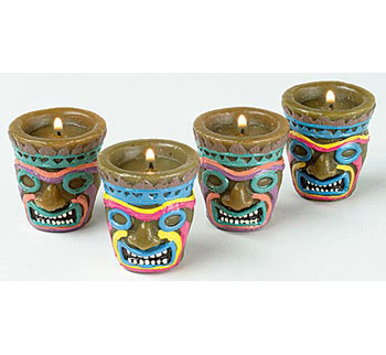 Mini Tiki Candle