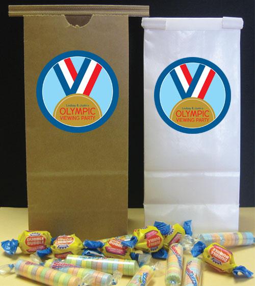 Gold Medal Theme Favor Bag