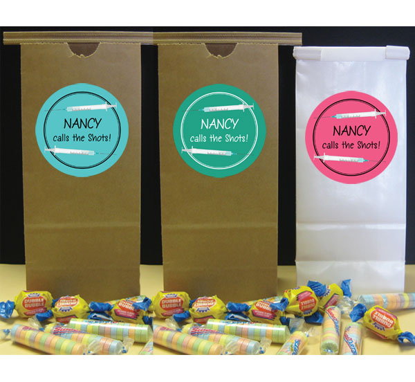 Graduation Nursing School Theme Favor Bag