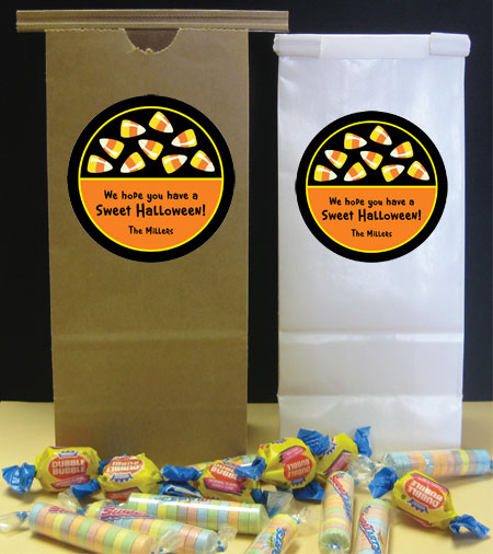 Halloween Sweet Candy Corn Party Favor Bag