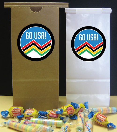 Winter Olympics Theme Favor Bag