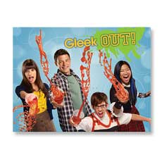 Glee Party Invitations