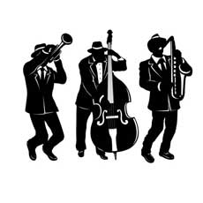 Jazz Trio Cutouts