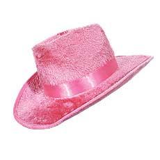 Pink Cowboy Hat w/Band