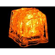 Orange Light Cubes
