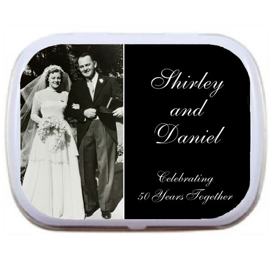 Anniversary Add A Photo Mint Tin