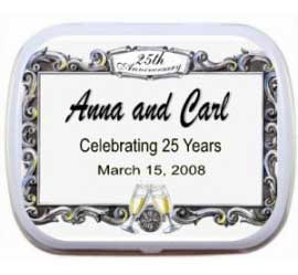 25th Anniversary Theme Mint Tin