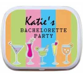 Mint Tin, Bachelorette Party Cocktails
