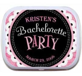 Mint Tin, Bachelorette Party Pink Theme