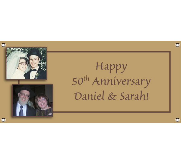 50th Anniversary Theme Banner