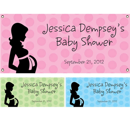 Baby Shower Mommy Theme Banner