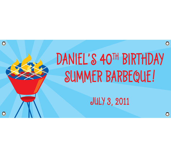 Barbecue Theme Banner