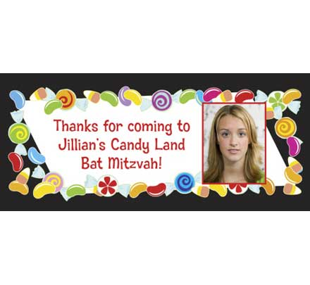 Candy Theme Banner