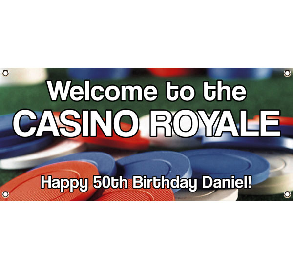Casino Chips Theme Banner