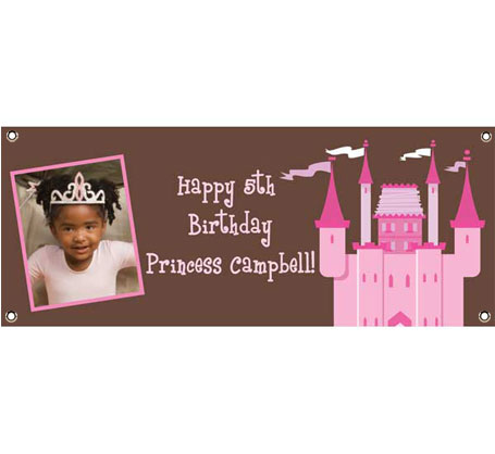 Birthday Castle Theme Banner