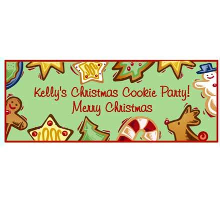 Christmas Cookies Theme Banner