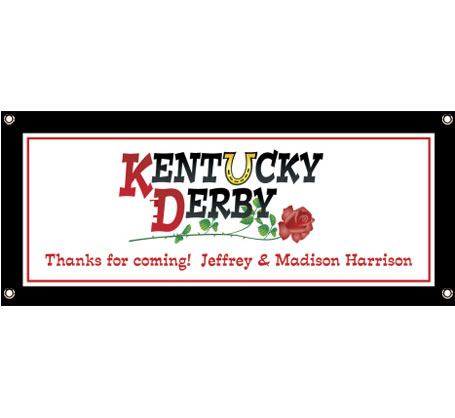 Kentucky Derby Party Theme Banner
