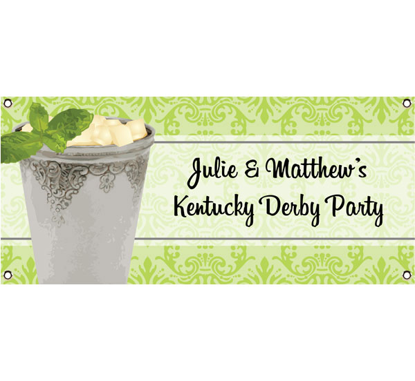 Kentucky Derby Julip Theme Banner