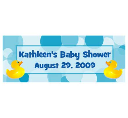 Baby Ducks Theme Banner