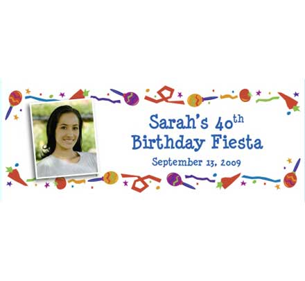 Fiesta Party Theme Banner