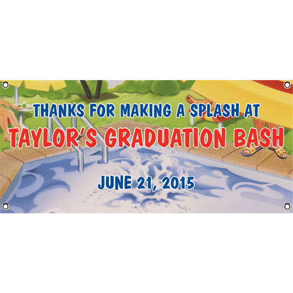 Graduation Pool Theme Banner
