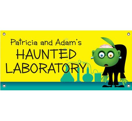 Halloween Lab Theme Banner