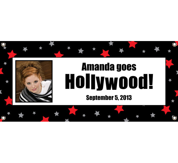 Hollywood Star Picture Banner