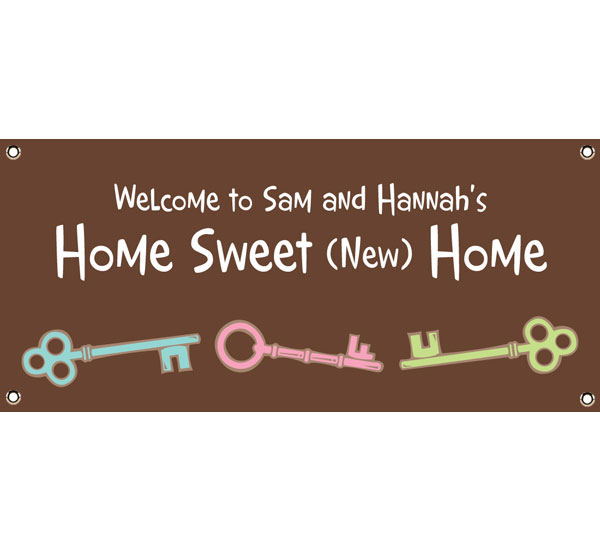 Housewarming Party Theme Banner
