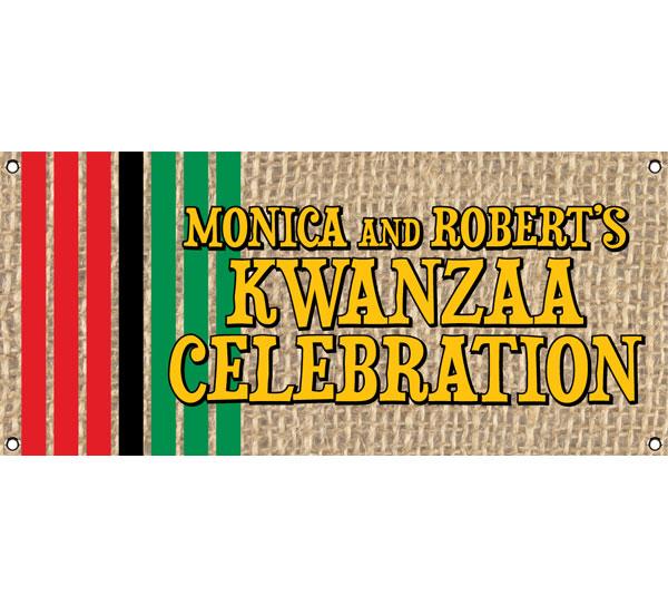 Kwanzaa Party Theme Banner