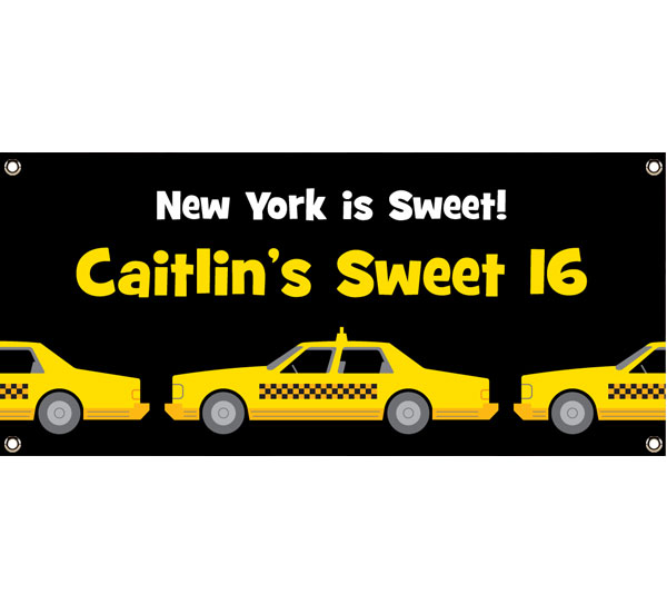 New York Taxis Theme Banner