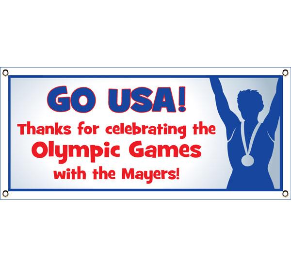 Olympics Theme Banner