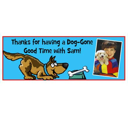 Puppy Party Theme Banner
