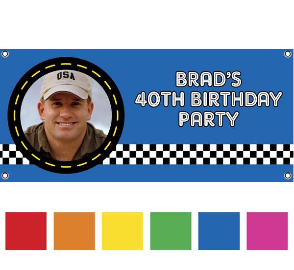 Car Racing Theme Banner