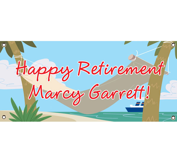 A Retirement Theme Banner