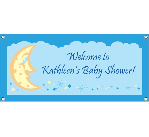 Baby Shower Stars Banner