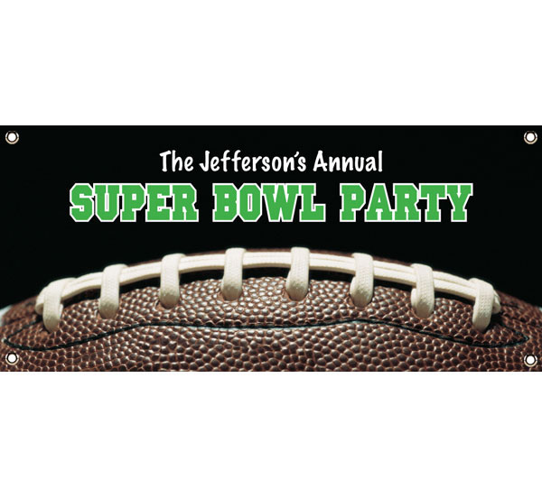 Football Party Theme Banner