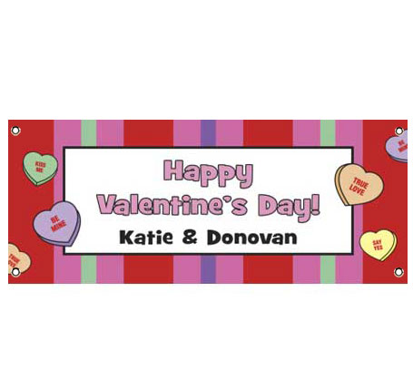 A Valentine's Day Party Theme Banner