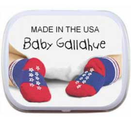Patriotic Baby Mint Tin