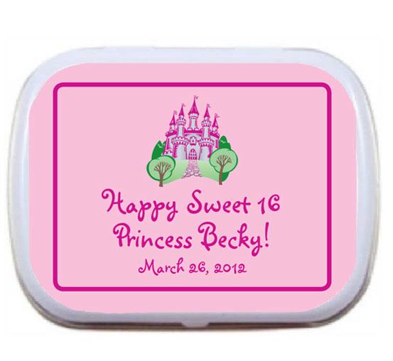 Fairy Tale Princess Theme Mint Tin