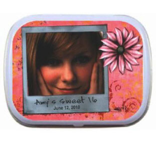 Photo Birthday Mint Tin
