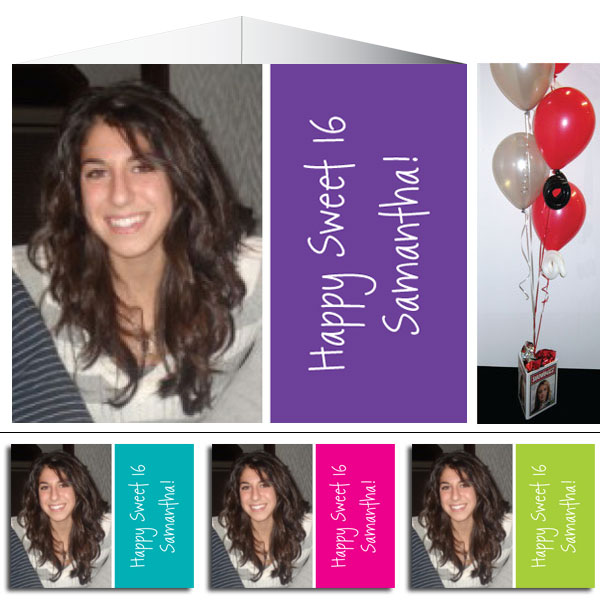 Birthday Photo Centerpiece