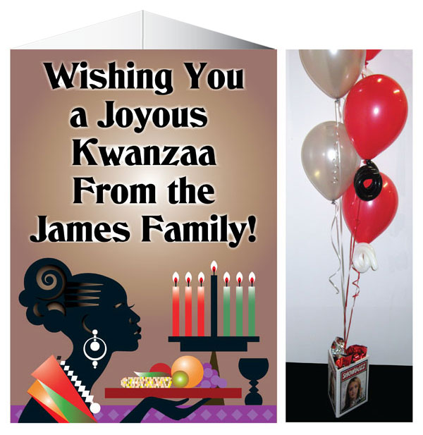 Kwanzaa Celebration Theme Centerpiece