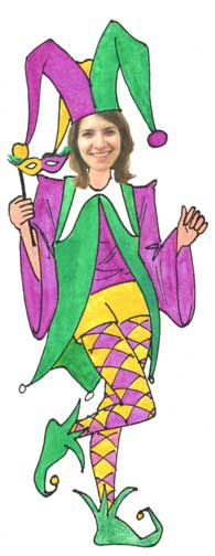 Jester Female Cutout
