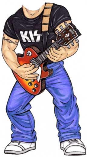 Rock Star Cutout