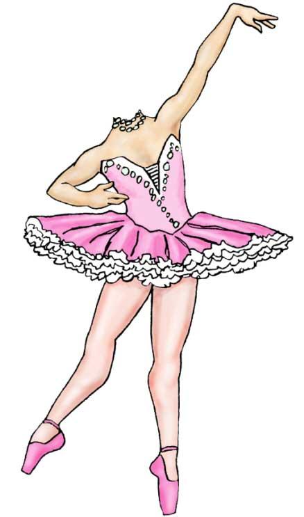 Prima Ballerina Cutout