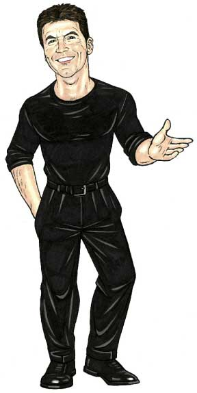 Simon Cowell, American Idol Lifesize Cutout