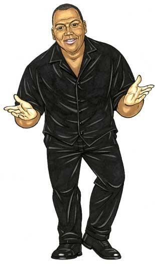 Randy Jackson, American Idol Lifesize Cutout
